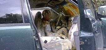 Красочное автомобильное происшествие