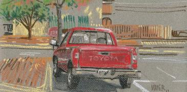 Дональд Майер: Красная Тойота